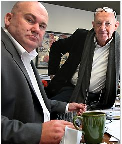 Justice campaigner and author of the Mytton report, Mr Dermot Nottingham (left)