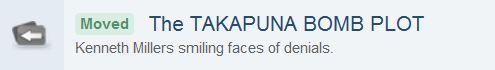 Takapuna Bomb Plot (Screen Capture from ACC Forum website)