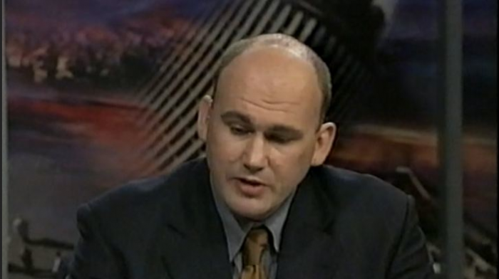 CIRCA 2003: NEW ZEALAND JUSTICE CAMPAIGNER, MR DERMOT NOTTINGHAM