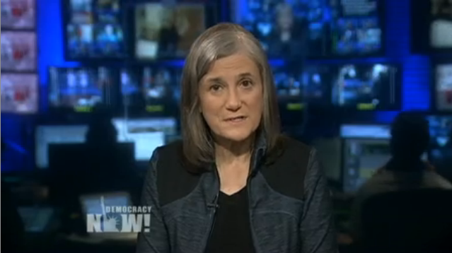 Democracy Now! host Amy Goodman