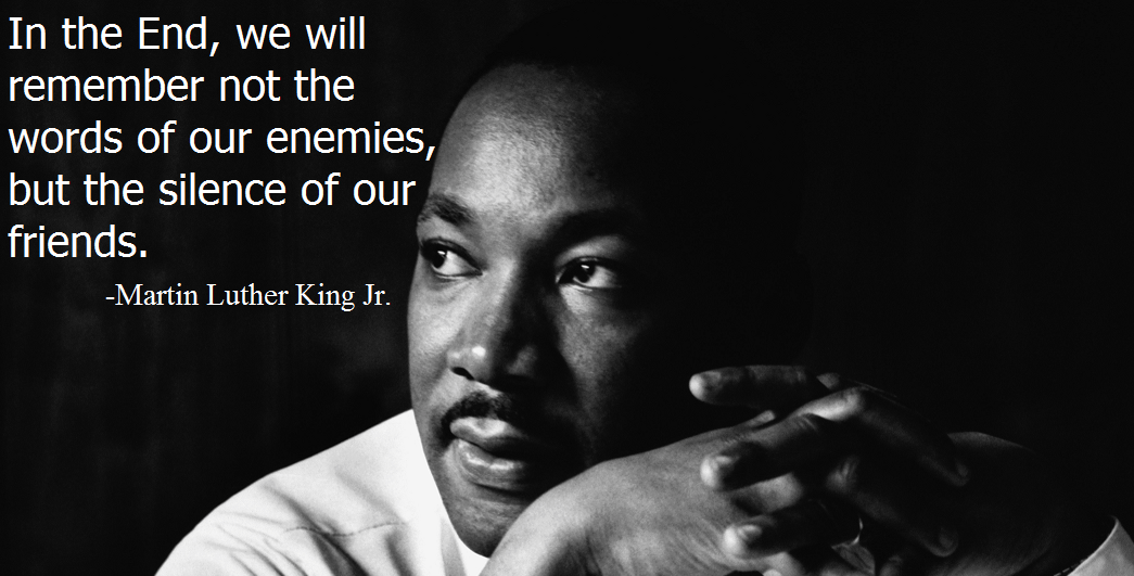 """The Great MLKj – would not have had kind words to say about Ernie Newman's approach – maybe a silent coward is a better ally than an alleged friend that actively sides with the enemy saying that the enemy should not suffer for their deliberate heinous actions against innocence. Hey Ernie wake up – the bible is a work of fiction – justice is not about turning the other cheek. That's why there is a Crimes Act."""""""