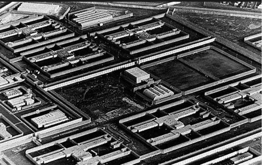 "The British built the ""MAZE"" to hold hundreds of Irish Political Prisoners who were released at the end of hostilities.  The prison solved nothing.  It was a breeding ground."