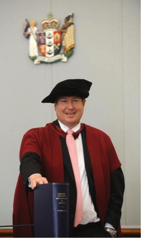 O'Driscoll - A DCJ getting something accurate – yes it does happen. And he's got a PHD in law – his thesis being miscarriages of justice caused by counsel behaviour