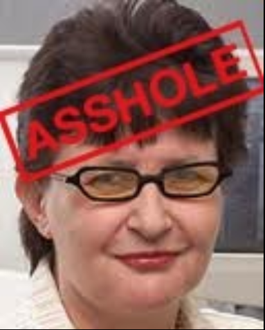 The public face of Alzheimer's: The New Zealand Heralds Fran O'Sulivan, someone should  open the gate and put this self serving bitch out to pasture - or send her to the meat works!