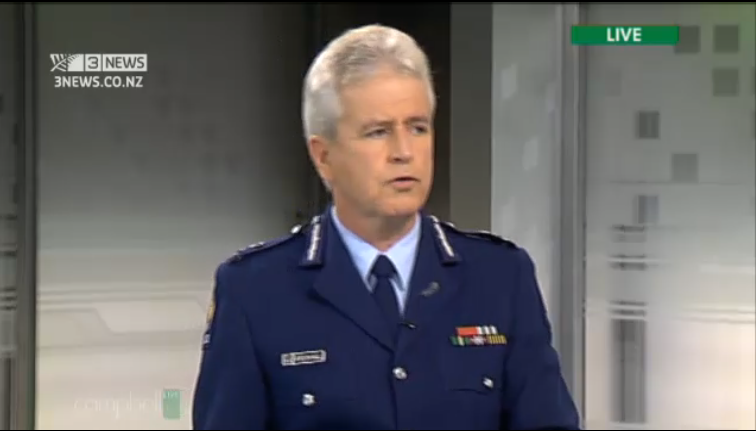 Police Commissioner Peter Marshall - his subordinate officers failed to tell him what was going on - really?