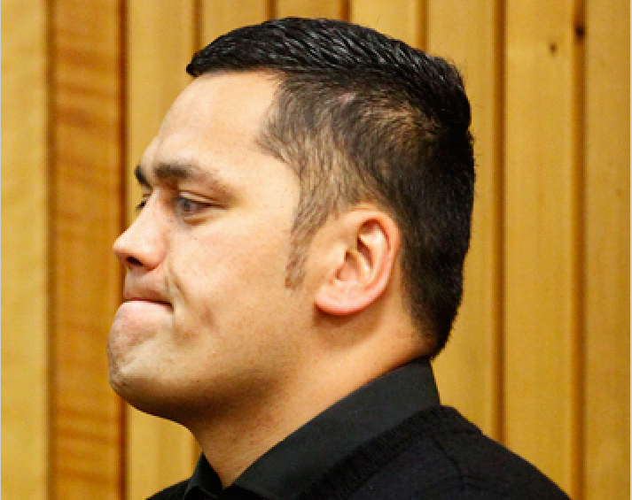 Whanganui police officer Hayden Clifford Bradley, 30, also accused of sexual corruption earlier this year.