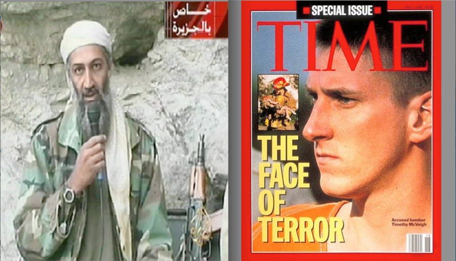 Osama Bin Laden & Timothy McViegh - Two men with the same objective – to control the excesses, criminality, and corruption of the United States Government