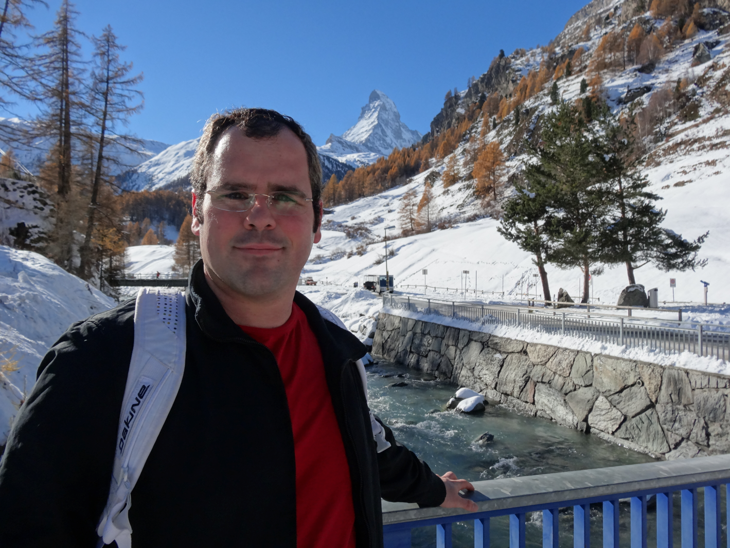 LF catches up with ECQ Blogger Marc Krieger enjoying the last of Switzerlands spectacular winter snows