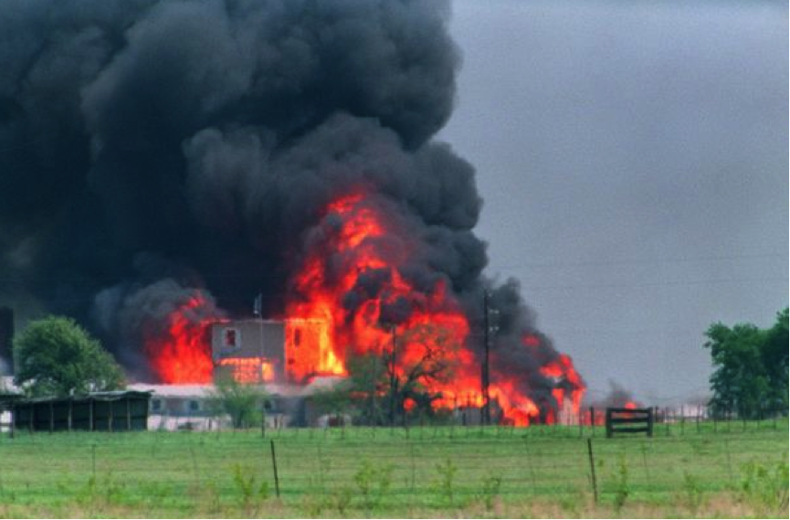 76 men women and children murdered by the US Government when it attempted to take guns off the Davidian section led by David Koresh.  Could this be a New Zealand prison, or a police station? – where will the imbalance explode into action?