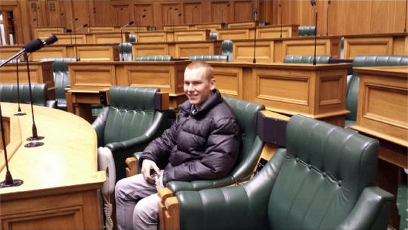 Alex will soon to be sitting in, not a parliamentary seat, a courtroom dock like his father?