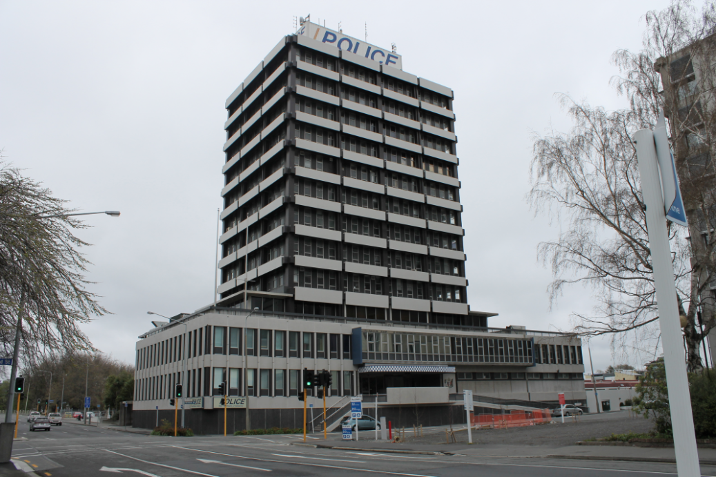 Christchurch City's Cathedral of Evil, the now derelict Central Police Station, scene of Hinkley's criminal activities