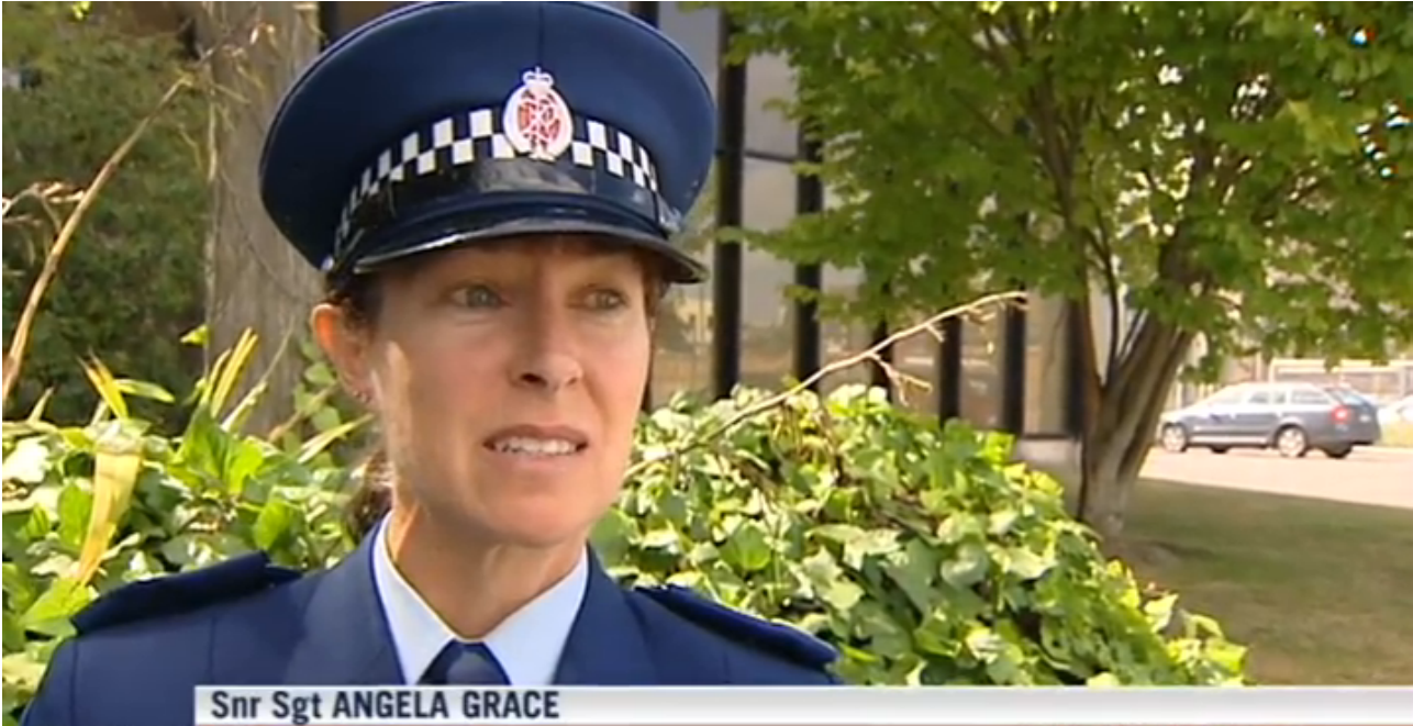 "Snr Sgt Angela Grace - ""Its always very disappointing"" What, when they get caught you mean Angela"
