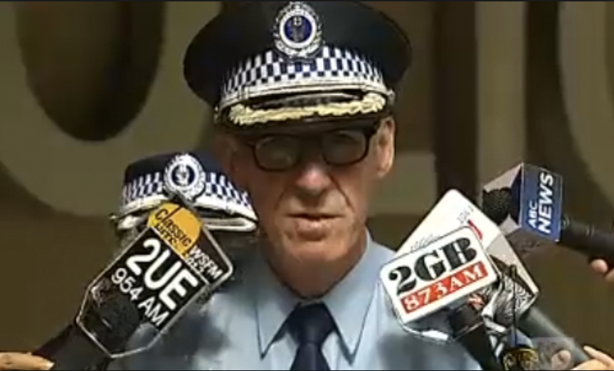 NSW Assistant Police Commissioner Mark Murdock assured the gay community and the assembled media that there would be a full investigation - What happened to it, were senior police hoping for Reed to be convicted first, before they wheeled out their shit-sling?