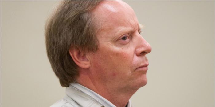 Malcolm Duncan Ingerman Mayer, in the dock at his sentencing
