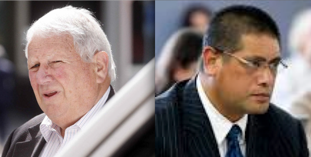 """What a gas – Sydney """"cunt"""" Hunt and Ron """"the great gas robber"""" Rosenberg have had their collars felt and felt their sphincters tighten as they face some time."""