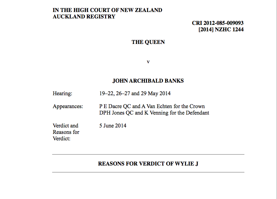 Click image to view Justice Wylies decision