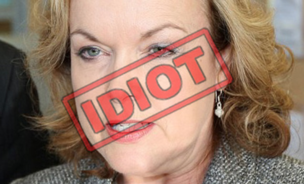 Corrupt Chinaphile, despot minister for justice and alround idiot the Rt Hon Judith Collins MP