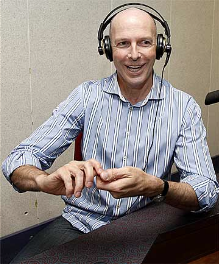 TVNZ Fair Go's Simon Mercep, a flopped television presenter now reduced to radio to make a crust.
