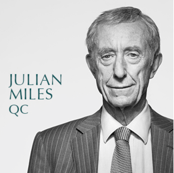 "Media Funky … law savvy Julian ""Caesar"" Miles QC."
