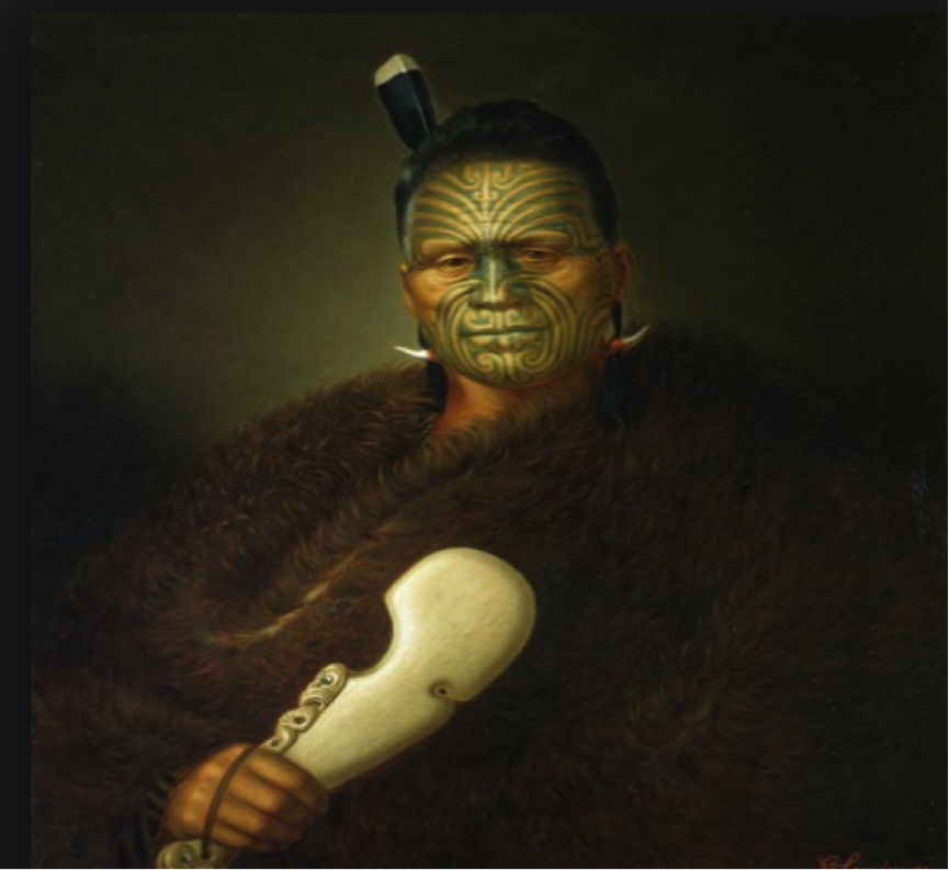 The original Royal Maori Fraud – Royal Fucktutnutsucksack Potatau – not Potato, [which was the joke of the day] became the first Maori King of fuck all at Ngaruawahia, Waikato, North Island New Zealand