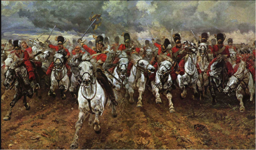 """The charge of the Light Brigade – the British light horse was the epitome of bravery as it was men with swords against canon – hence the advent of the Victoria Cross – a medal made from the bronze of the captured Russian Canon – what would have happened if the """"cannonless"""" Maori had faced these nutjobs."""