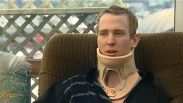 Jakob Christie, 19, broken neck, another victim of New Zealand Police violence.