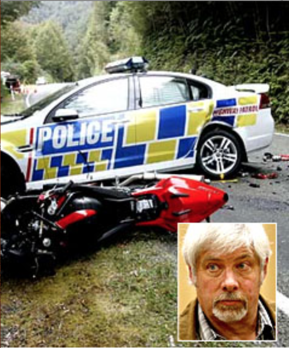 A former policeman at the centre of a high profile police U-turn case has been found guilty of driving while disqualified, when his case that the moped he was riding was a bicycle failed. Anthony Dale Bridgman was caught riding a moped in September last year. The former Blenheim traffic police officer was disqualified from driving at the time after causing a crash with two motorcyclists when he attempted a U-turn in his patrol car on a narrow gorge road in 2008.
