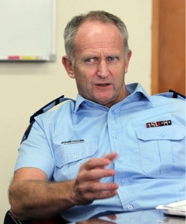 Waikato police district commander superintendent Bruce Bird, corrupt cops drugs theft concealed by police.