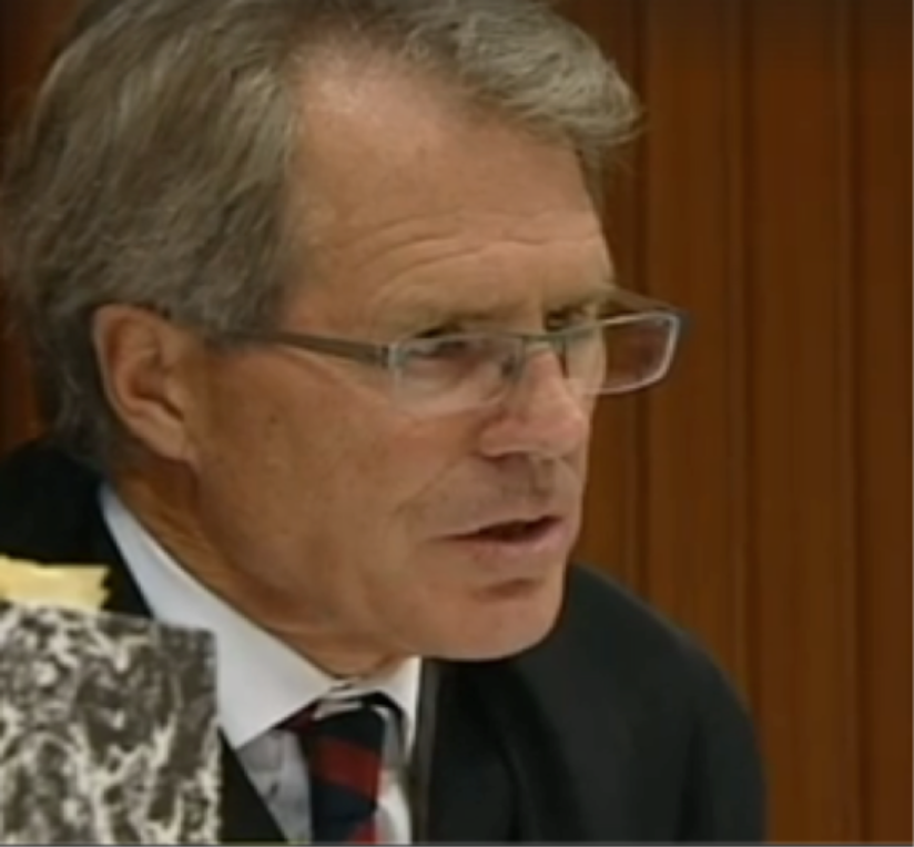New Zealand High Court judge, Justice Raynor Asher, the second jurist to fall victim to Blomfield majick gas