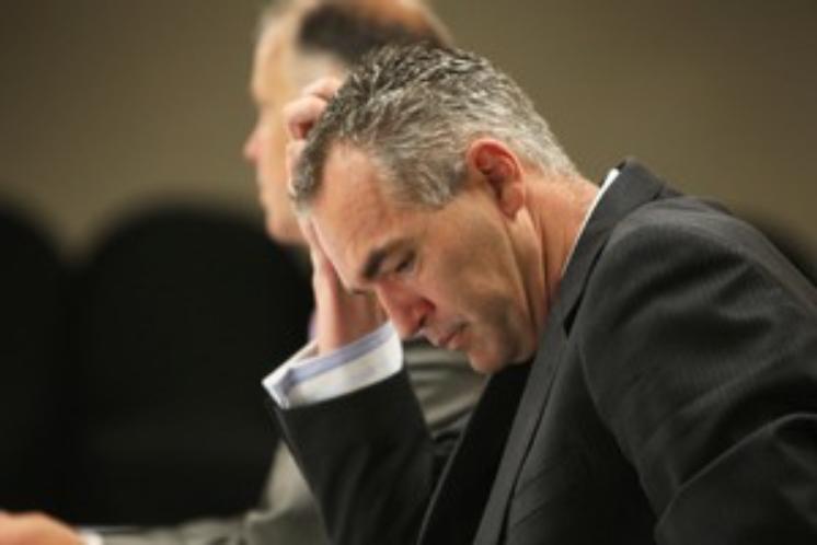 Corrupt ex-cop Paul Lamb