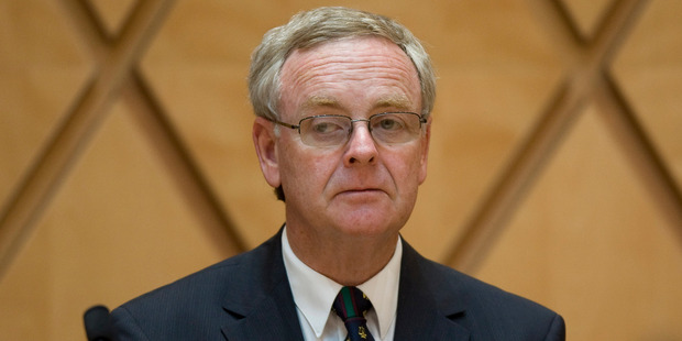 Retiring High Court Justice John McGrath