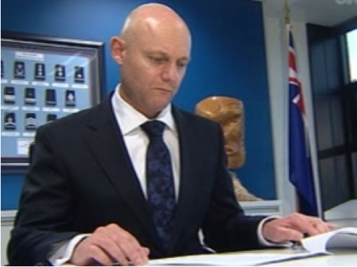 Department of Corrections CEO Ray Smith, the man who took an axe to staffing levels back in 2012