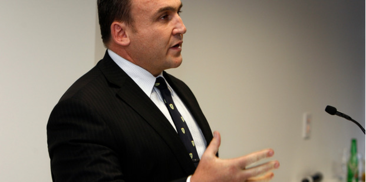 Ex cop and National party MP Mike Sabin