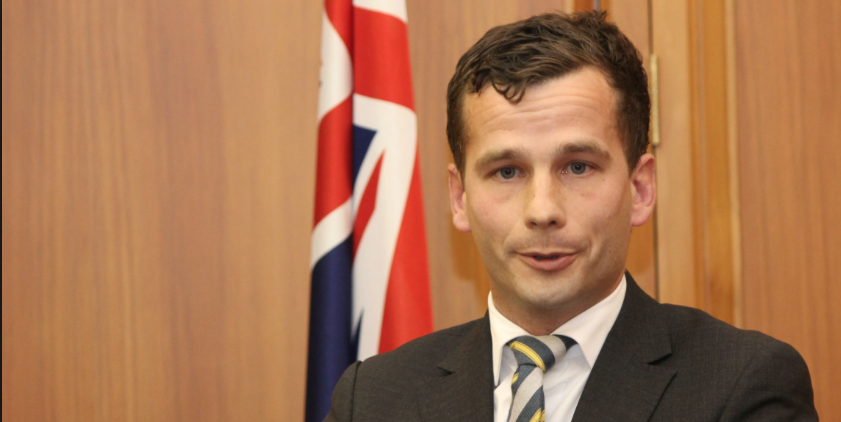 Act Party MP David Seymour -