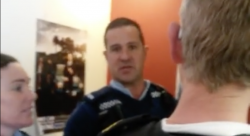 The same cop was evidently annoyed at being filmed....but that in itself is not against the law. In fact it comes highly recommended when dealing with Kiwi cops.