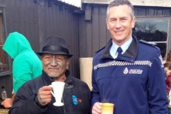 Commissioner Mike Bush had only just apologised to the locals for exactly this type of police abuse.