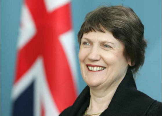 Ex NZ PM Helen Clark, now living the high life on a UN MasterCard