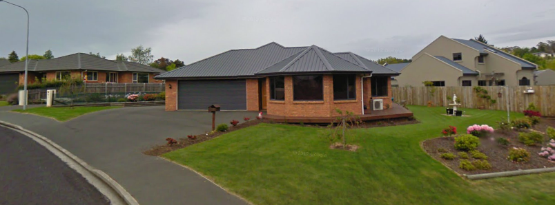 Police and Private investigators and police swooped on this house at 13 Duxford Crescent, Fairfield, Otago, New Zealnd on September 1, 2006.