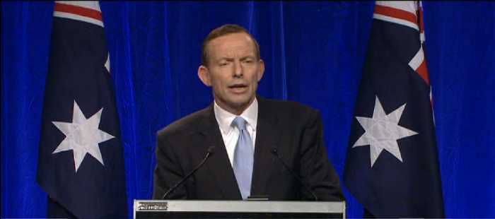 """Tony Abbott """"proud and humbled"""" pledging himself """"to the service of Australia"""" as he magnanimously claims electoral victory!"""