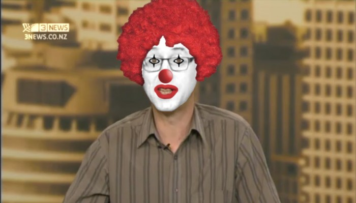 Steven Price appeared on TV3 with yet another version of his media circus legal opinion.